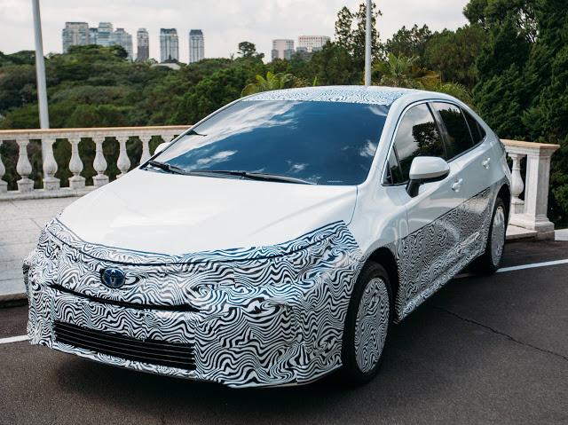 Novo Toyota Corolla 2020 híbrido Flex chega ao Brasil no último trimestre deste ano