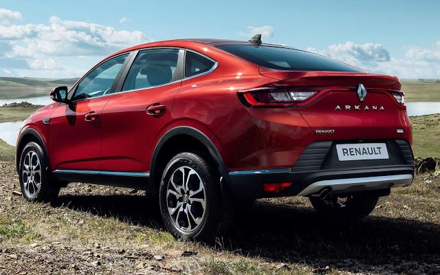 Renault Arkana: revelada versão de produção - SUV cupê chega ao Brasil em 2020
