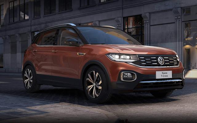 VW T-Cross brasileiro chega ao México por R$ 74 mil