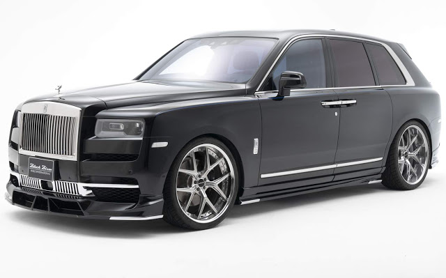 Rolls Royce Cullinan ganha pacote de enfeites no Japão